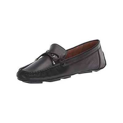 Aerosoles Women's Brookhaven Driving Style Loafer, Black Leather, Medium Wi