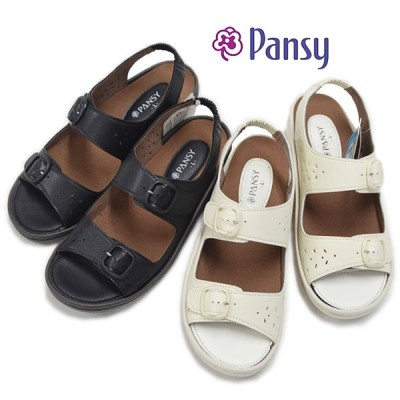 Pansy パンジー サンダル BB5966 バックベルト 抗菌 防臭レディース 母の日 婦人靴