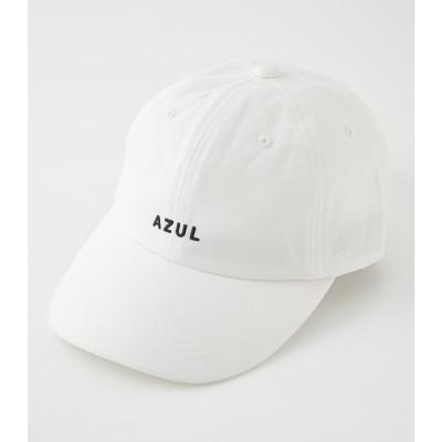 AZUL LOGO CAP WHT