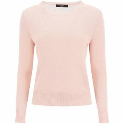 WEEKEND MAX MARA/ウィークエンド マックス マーラ Pink Weekend max mara teiera linen sweater レディース 春夏2021 TEIERA ik