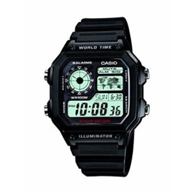 『送料無料!』CASIO (カシオ) 腕時計 デジタル AE-1200WH-1A メンズ 海外モデル [逆輸入品]