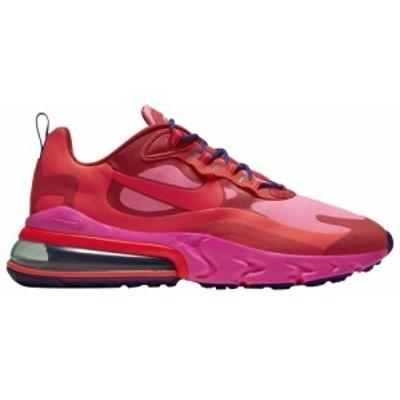 ナイキ メンズ エア マックス270 Nike Air Max 270 React スニーカー Mystic Red/Bright Crimson/Pink Blast