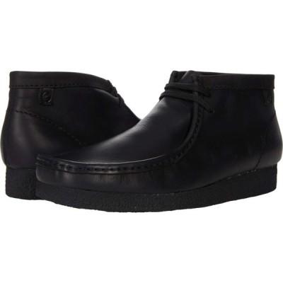 クラークス Clarks メンズ ブーツ シューズ・靴 Shacre Boot Black Leather