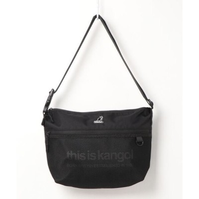 ショルダーバッグ バッグ 【KANGOL / カンゴール】 切替 メッシュポケット ショルダー バッグ