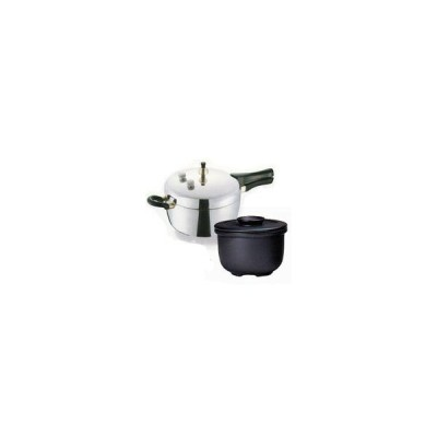平和圧力鍋 PC-45A+新・特選カムカム鍋II3800型セット 鋳物屋