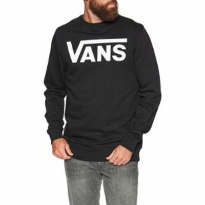 ヴァンズ Vans メンズ ニット・セーター トップス classic crew ii sweater Black White