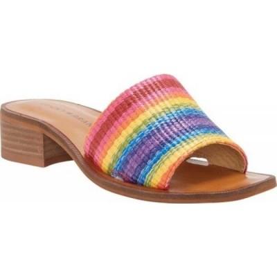 ラッキーブランド Lucky Brand レディース サンダル・ミュール シューズ・靴 Frijana Slide Bright Multi Topanga Fabric