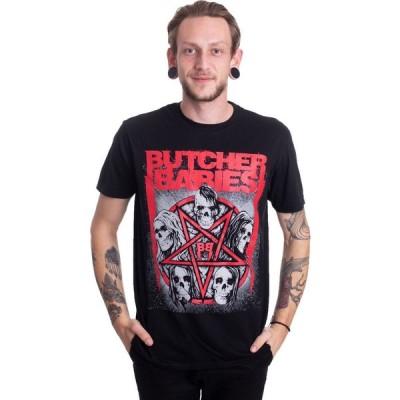 インペリコン Impericon メンズ Tシャツ トップス - Starskull - T-Shirt black