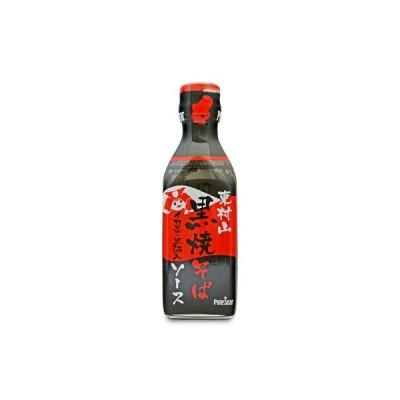 ポールスタア 東村山 黒焼きそばソース 瓶 200ml