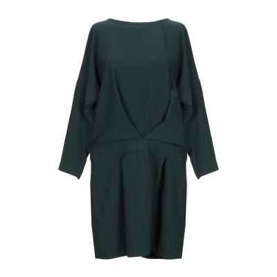 8PM ミニワンピース&ドレス ダークグリーン S ポリエステル 100% ミニワンピース&ドレス