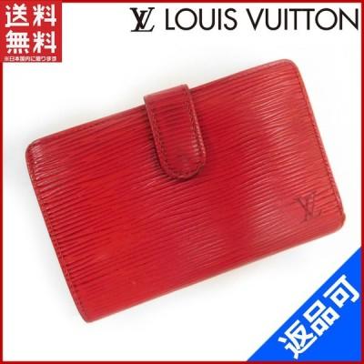 ルイヴィトン LOUIS VUITTON 財布 二つ折り財布 がま口財布 M6324E ヴィエノワ エピ 中古 X15031
