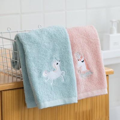 家庭用吸水柔軟可愛い男女カップル用タオルセット