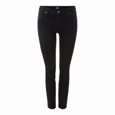 ペイジ ジーンズ・デニム Verdugo Mid Rise Ankle Skinny Jeans Black Shadow black