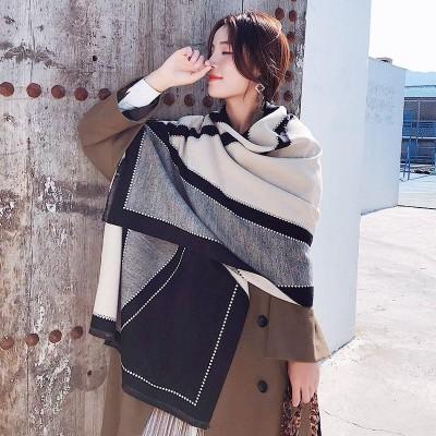 大判ストール マフラー 手触りがよく柔らかい レディース うっとりするほど心地の良い大判型ストール プレゼント 起毛のある暖かさが気持ち 韓国ファッション