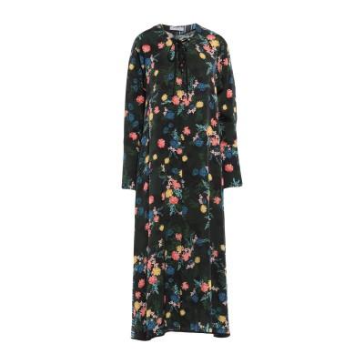 BEATRICE 7分丈ワンピース・ドレス ブラック 42 レーヨン 70% / シルク 30% 7分丈ワンピース・ドレス