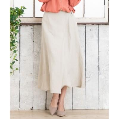 ADMIX-Japan/JETSET SOLO PLUS / リネンレーヨンラップ風スカート【大きいサイズ対応】【9号(M)~19号(5L)】 WOMEN スカート > スカート
