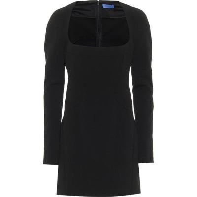 ミュグレー Mugler レディース パーティードレス ワンピース・ドレス stretch-crepe minidress Black