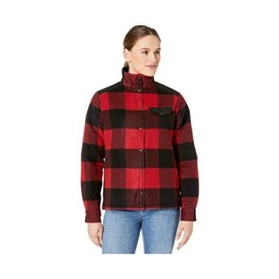 Fj?llr?ven Canada Wool Padded Jacket Red SM並行輸入品 送料無料