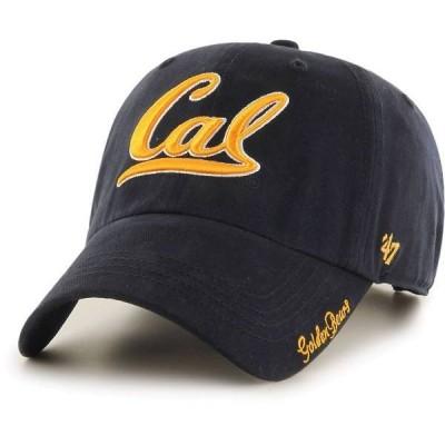 フォーティーセブン レディース 帽子 アクセサリー '47 Women's Cal Golden Bears Blue Miata Clean Up Adjustable Hat