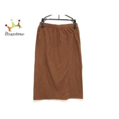 ユキトリイ YUKITORII スカート サイズ9 M レディース ブラウン     スペシャル特価 20200612