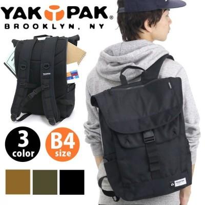 リュック YAKPAK ヤックパック 18L フラップ リュックサック 15ポケット バックパック フラップ バックパック かぶせ 旅行 レジャー アウトドア