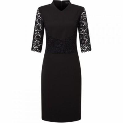ジュームズ レイクランド James Lakeland レディース パーティードレス ワンピース・ドレス Tailored Lace Dress Black