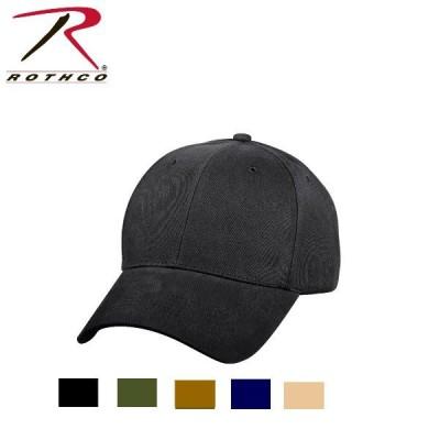 ロスコ無地キャップRothco Supreme Solid Color Low Profile Cap8283(6色)