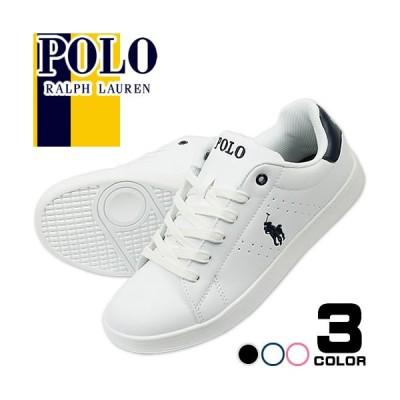 ポロ ラルフローレン Polo Ralph Lauren スニーカー クルトン QUILTON レディース ブランド 白 黒 ホワイト ブラック おしゃれ