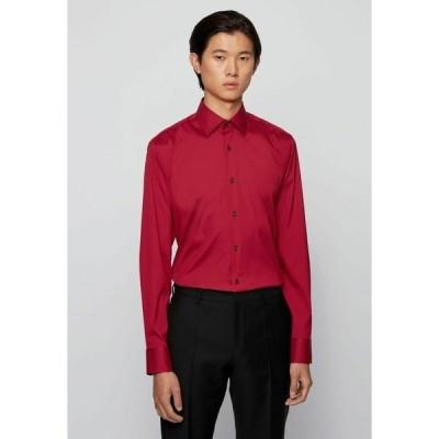ボス シャツ メンズ トップス Formal shirt - dark red