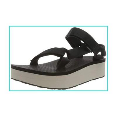 Teva Women's Ankle Strap Sandal, Black Tan, Women 2【並行輸入品】