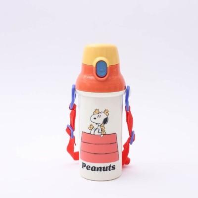 水筒 スヌーピー 抗菌直飲プラボトル ピーナッツレトロ/PSB5SANAG 子供用水筒 子ども キッズ すいとう 直飲み プラスチック製 軽量 軽い 抗菌加工 抗菌仕様
