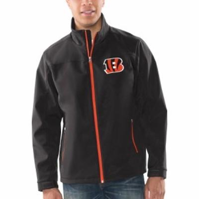 """メンズ ジャケット """"Cincinnati Bengals"""" G-III Sports by Carl Banks Pregame Full-Zip Jacket - Black"""