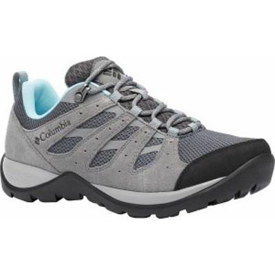 コロンビア レディース ブーツ・レインブーツ シューズ Women's Columbia Redmond V2 Hiking Shoe Graphite/Blue Oasis