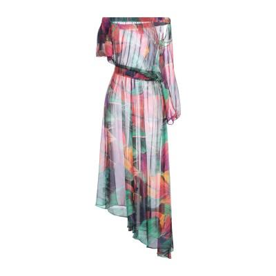 ピンコ PINKO ロングワンピース&ドレス グリーン 38 レーヨン 100% ロングワンピース&ドレス