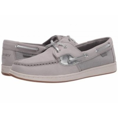 Sperry スペリー レディース 女性用 シューズ 靴 ボートシューズ Coastfish Boat Grey/Silver【送料無料】