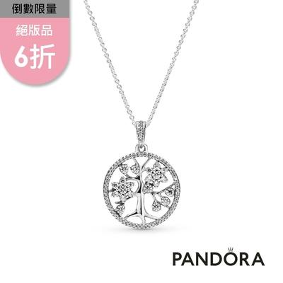 【Pandora官方直營】家庭樹長項鏈