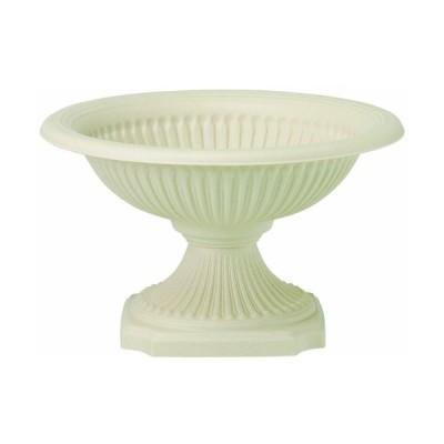 大和プラスチック 鉢・プランター ジェルミカップ(浅型) 424 φ400×H240 アイボリー