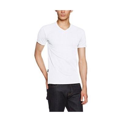[アヴィレックス] Tシャツ半袖 (抗菌) (防臭) DAILY RIB V-NECK TEE 6143501 メンズ