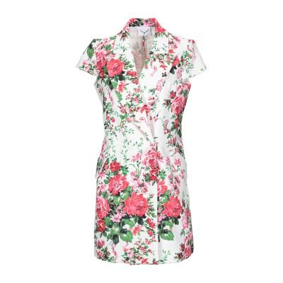 LEITMOTIV ミニワンピース&ドレス ホワイト 42 ポリエステル 96% / ポリウレタン 4% ミニワンピース&ドレス