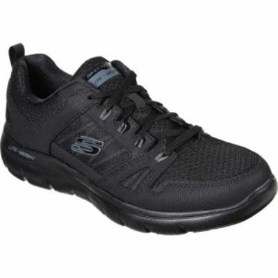 スケッチャーズ Skechers メンズ スニーカー シューズ・靴 Summits New World Sneaker Black/Black