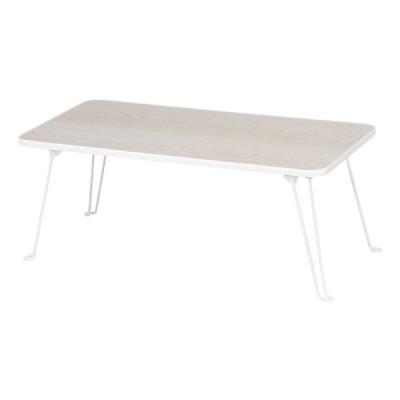 3個入り ローテーブル 角 80×40cm 折れ脚 折り畳み 折りたたみ リビングテーブル センターテーブル ちゃぶ台 机 ワークテーブル ホワイトウォッシュ