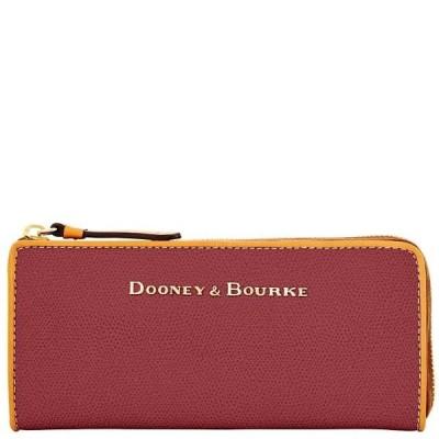 ドゥニー&バーク 財布  Dooney & Bourke Claremont ジップ クラッチ Bordeaux