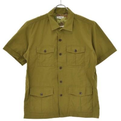 BURGUS PLUS / バーガスプラス BP16501 サファリ 半袖シャツ