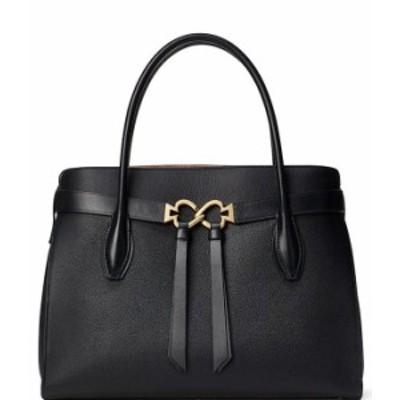 ケイトスペード レディース ハンドバッグ バッグ Toujours Large Pebble Leather Satchel Bag Black