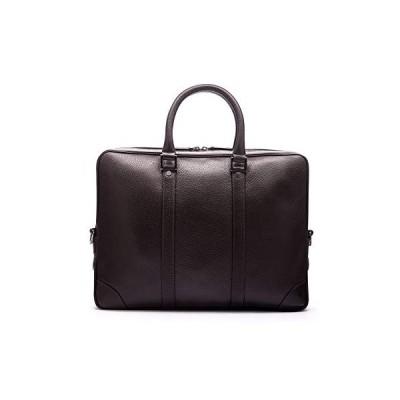 SAGEBROWN Brown With Gunmetal Gainsborough Laptop Bag 並行輸入品
