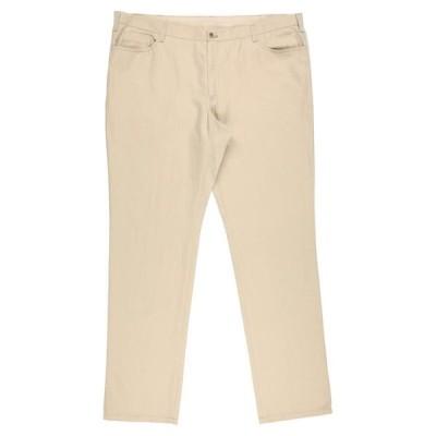LEBOLE 5ポケットパンツ  メンズファッション  ボトムス、パンツ  その他ボトムス、パンツ ベージュ