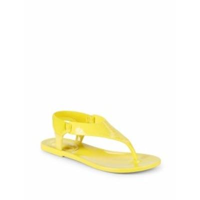 カルバンクライン レディース シューズ サンダル Janny Rubber Thong Sandals