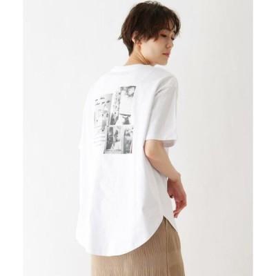 SHOO・LA・RUE / シューラルー ひんやり 転写プリントTシャツ