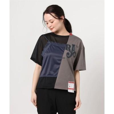 tシャツ Tシャツ 【Maison MIHARA YASUHIRO】キャミソールコンビンドTシャツ/Camisole Combined T-shirt