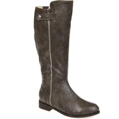 ジャーニーコレクション ブーツ&レインブーツ シューズ レディース Women's Comfort Extra Wide Calf Kasim Boot Olive